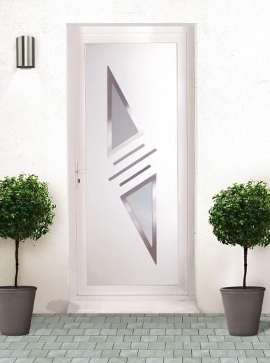 Porte d 39 entr e d cor pvc porte d 39 entr e moderne porte en pvc de menuisier conseil - Porte d entree pvc occasion ...